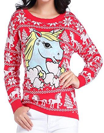 Un pull de Noël qui effraiera même les grandes fans de licorne