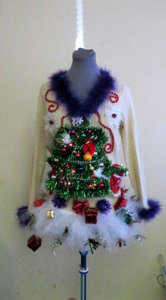 Le pull de Noël pour frimer et s'enjailler sur la patinoire du marché de Noël