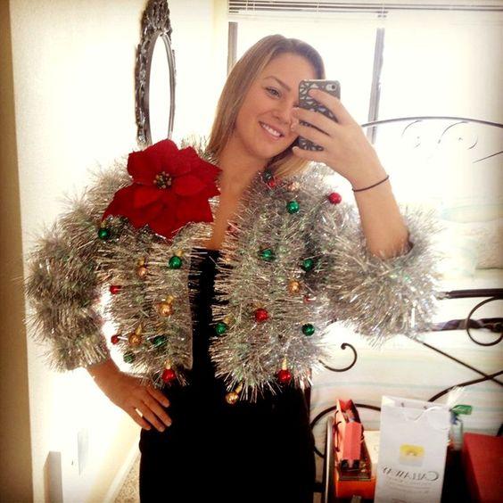 """Le pull de Noël """"J'ai un boléro de toute beauté"""""""